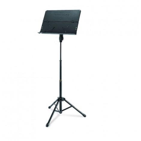 Hercules BS408B - Quik-N-EZ Three Way Height Adjustment Tripod Music Stand with Folding Desk
