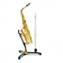 Hercules DS532BB - Stand for 1 Alto/Tenor SAX and 1Clarinet/Flute with Bag 2