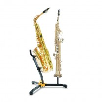 Hercules DS533BB - Stand for 1 Alto/Tenor SAX and 1 Soprano SAX with Bag 2