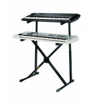 Hercules KS210B - Double Tier X Keyboard Stand 2
