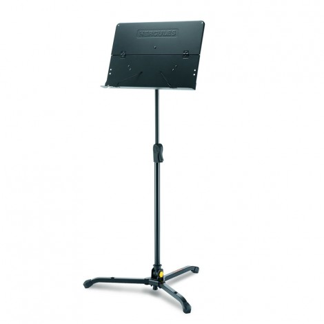 Hercules BS301B - Quik-N-EZ Grip Orchestra Stand with Foldable Desk