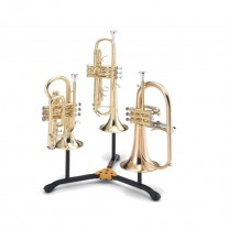 Hercules DS513BB - Stand for 2 Trumpets/Cornets and 1 Flugelhorn with Bag 2
