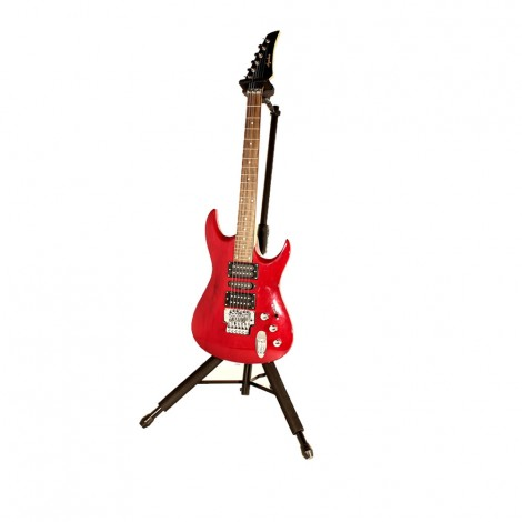 Hercules GS415B - Auto Grab Guitar Stand with Foldable Yoke
