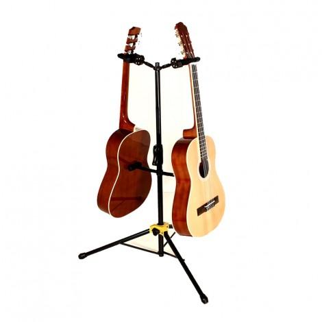 Hercules GS422B - Auto Grab Duo Guitar Stand